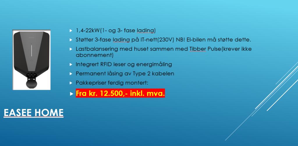 flekkefjord elektro elbillader tilbud